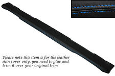 BLUE STITCH TOP DASH DASHBOARD LEATHER SKIN COVERS FITS LAND ROVER SERIES 3