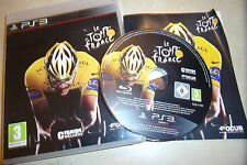 SONY PS3 GAME ORIGINAL LE TOUR DE FRANCE 2011 +BOX INSTRUCTIONS COMPLETE PAL GWO