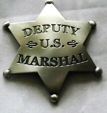 John Wayne True Grit- US Marshal Badge Authorized Authentic Replica - Made USA