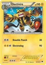 Electivire 43 x4  NM   BREAKPoint Pokemon TCG Uncommon