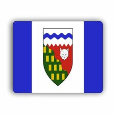 Northwest Territories Flag Computer Mouse Mat Pad Desktop PC Laptop