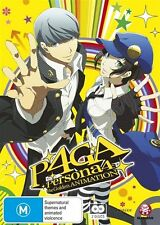 The Persona 4 - Golden Animation (DVD, 2015, 2-Disc Set) Brand New & Sealed R4