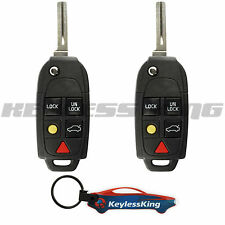 2 Remote Key Fob for 2004 2005 2006 2007 2008 2009 2010 2011 12 13 14 Volvo xc90