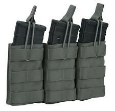 Warrior Assault Triple Open Mag Pouch Tasche oliv Green M4 AR15