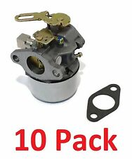 (10) CARBURETORS Carbs for Tecumseh 640299 640299A 640299B Snow Blower Thrower