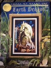 Earth dragon cross my heart inc counted cross stitch pattern Sherrie stepp-Aweau