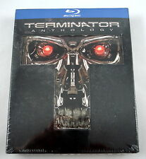 Terminator Anthology 5 Disc Blu-ray Collection Complete Boxed Set