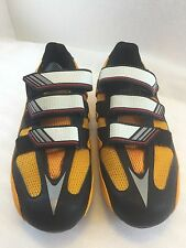 Adidas Girano Cycling Bike Shoes 7 US 6.5 UK 40 EU 250 J Yellow Black New in Box