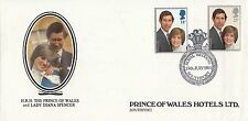 (91193) GB Prince of Wales Hotels Cover Princess Diana Wedding Southport  FAIR