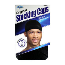 1PC Men's Dream Stocking Sports Wave Caps Head Wrap Beanie Du Rag Black #041