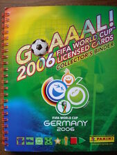 PANINI  COMPLETE BINDER + ALL 150 TRADING CARDS WORLD CUP 2006