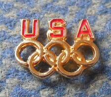 NOC USA OLYMPIC SMALL PIN BADGE