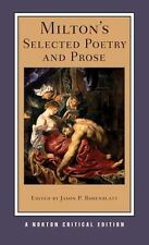 Norton Critical Editions: Milton's Selected Poetry and Prose 0 by John Milton...