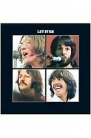 BEATLES let it be 2009 VINYL STICKER official merchandise
