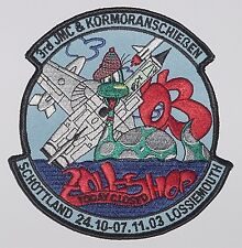 Marine Aufnäher Patch MFG 2 3rd JMC & Kormoranschießen 2003 TORNADO .......A2333