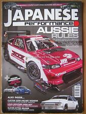 Japanese Performance October 2016 Honda CR-X Corolla AE86 Nissan 200SX Impreza