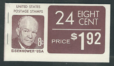 Scott #1395...8 Cent... .Eisenhower.... Booklet with  24 Stamps