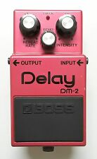 BOSS DM-2 Delay Vintage Guitar Effects Pedal MIJ 1982 Early Model MN3005/3101
