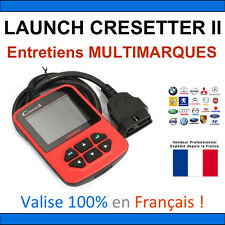 Valise Appareil LAUNCH CRESETTER II Diagnostique Multimarque Obd Diagnostic