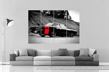 MUSCLE CARS DRAGSTER  Poster Grand format A0 Large Print