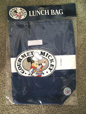 New, GOURMET MICKEY MOUSE Lunch Bag, Navy Blue, Disneyanna