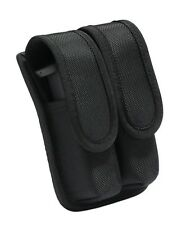Double Magazine Pouch Tactical Mag Bag Airsoft Black Military Pistol New Belt