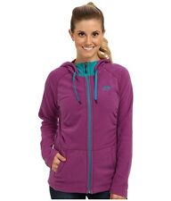 New Womens North Face Fleece Mezzaluna Hoodie Jacket Large