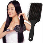 Professional Healthy Paddle Cushion Hair Loss Massage Brush Hairbrush Comb Scalp