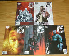 5 Days To Die #1-5 VF/NM complete series - cop drama comics 2 3 4 set lot idw