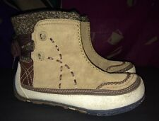 Merrell Puffin Mid Tan Primaloft 200 Gram Insulated Boots Women's Size 7