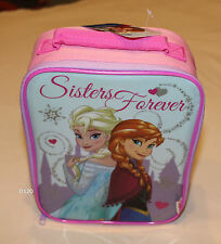 Disney Frozen Kids Printed Insulated Lunch Box Cooler Bag New Licensed