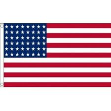 USA UNITED STATES OF AMERICA 1912-1959 48 STARS 5FTX3FT