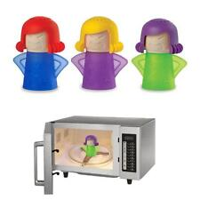 Newest Metro Angry Mama Microwave Cleaner Kitchen Gadget Tool Useful Green Color