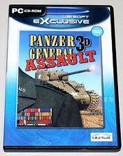PANZER GENERAL 3D ASSAULT - PC SPIEL IN DVD HÜLLE - NEUWERTIG STRATEGIE RARITÄT