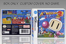 "NINTENDO DS : BOMBERMAN LAND TOUCH 2. UNOFFICIAL COVER. ORIGINAL BOX. ""NO GAME""."