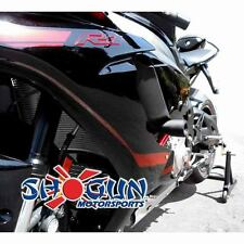 Yamaha 2015-17 YZF-R1 Shogun Frame Sliders No Cut Version Black