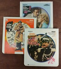 Pink Panther Collection (3)- CED SelectaVision VideoDisc - From large collection