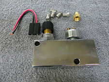 Chrome Adjustable Proportioning Valve and Distribution Block w/ Brake Switch