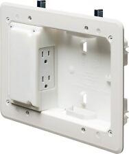 Arlington TVL508GC Low Profile Power and Low Voltage TV Box