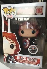 Black Widow Gamestop Exclusive 103 Age of Ultron Avengers Funko Pop RARE