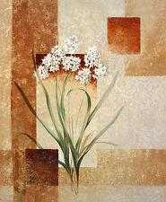 Karin van der Valk Zarte Blumen I Poster Kunstdruck Bild 60x50cm - Portofrei