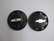 1995,1996,1997,1998,1999, CHEVROLET 3500 PICKUP CENTER CAPS AND NUTS  (Pair)