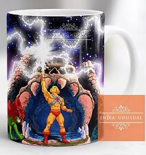 HE MAN MASTER OF UNIVERSE CASTLE GRAY SKULL COFFEE MUG CUP CHRISTMAS NEW YEAR