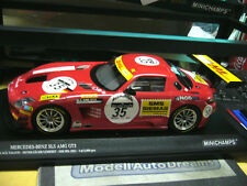 MERCEDES BENZ SLS AMG Racing 24h Spa Heyer Jäger black Falcon 35 Minichamps 1:18
