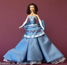 Scarlett O'Hara Vivien Leigh OOAK Celebrity Redress Barbie Doll in Wedgwood Gown