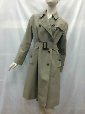 Sportscraft Size 10 Taupe Trench Coat