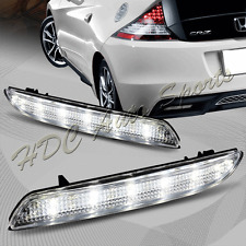 For 2011-2014 Acura TSX/Honda Insight JDM Clear Lens LED Bumper Brake Light Lamp