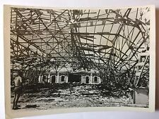 ww2 photo press Italy, San Benedetto Del Tronto after an attack by plane  B390