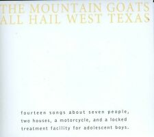 The Mountain Goats - All Hail West Texas [New CD]