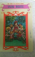 Snow White My Tiny 3-D Book Series Froebel-Kan 1987 in Australia 0868019003